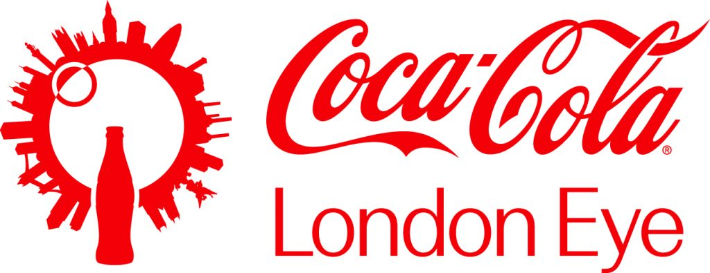 Coca cola London Eye Logo