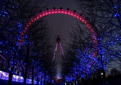 London Eye Christmas 2020